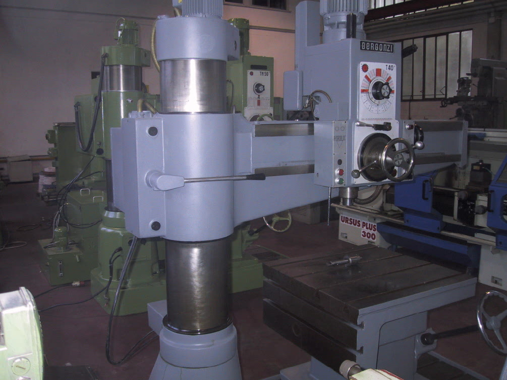 dealer Drill BERGONZI TM 40/1000 used