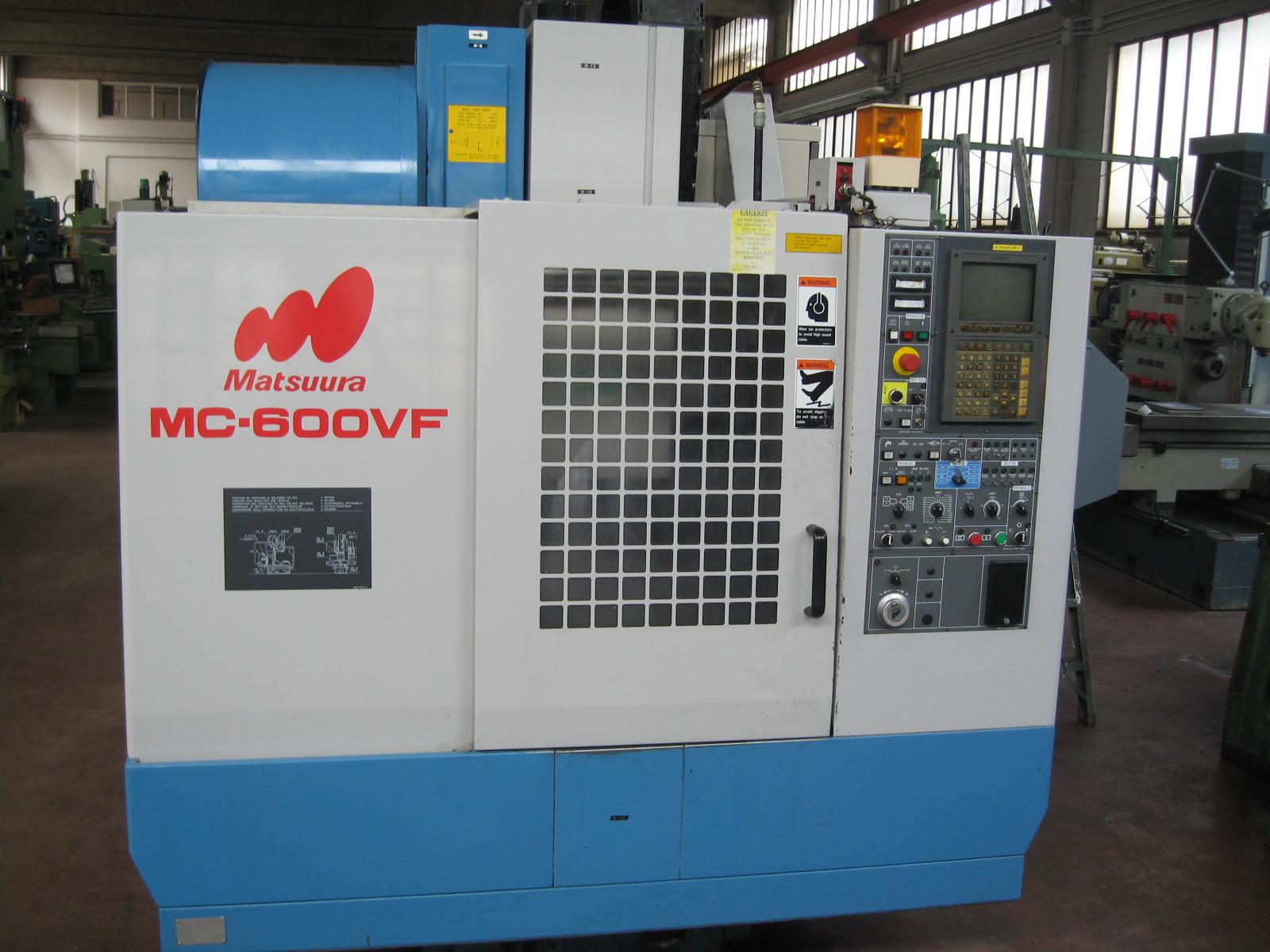 used Machining Centre MATSUURA MC 600 VF dealer | Gamba Macchine