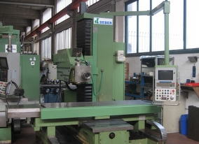 dealer Milling machine DEBER BTM 2500 used