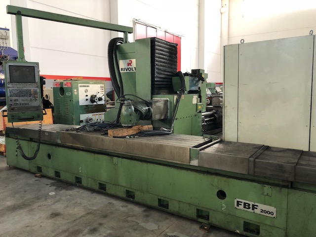 dealer Milling machine RIVOLTA FBF 2000 used