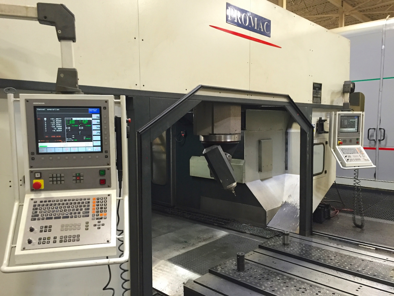 rivenditore Machining Centre PROMAC ZEPHYR VTT 3.0 used