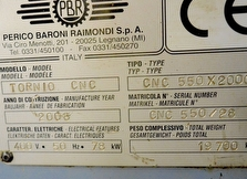 sales  PBR A550-CNC used